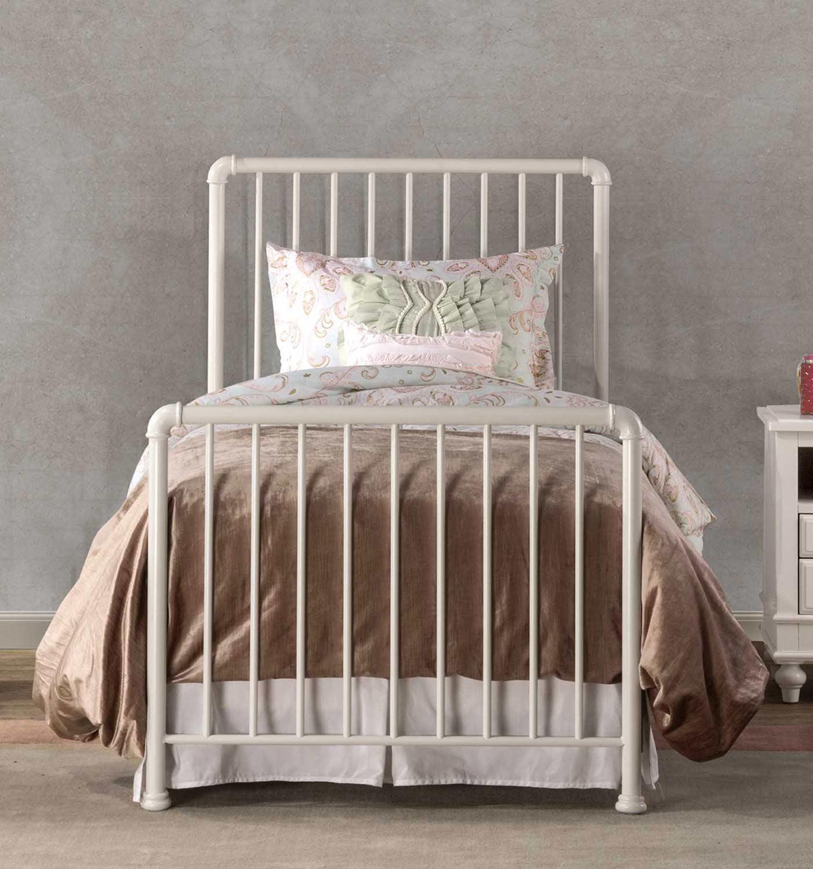 Hillsdale Brandi Bed - White