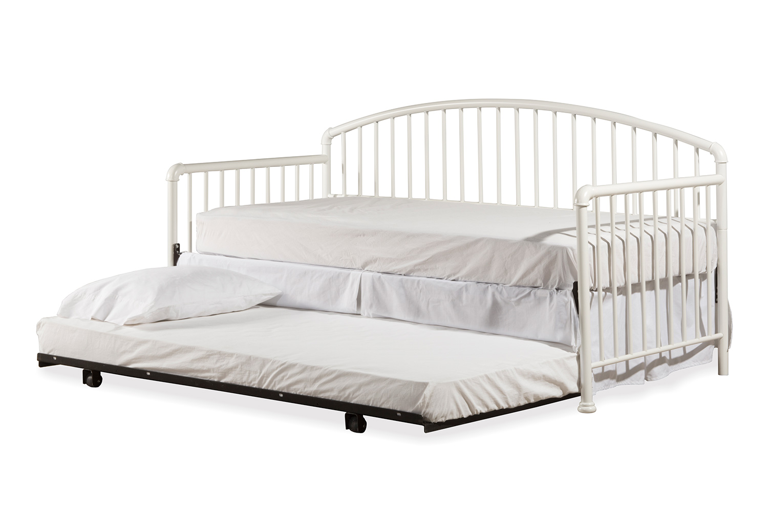 Hillsdale Brandi Daybed with Trundle - White