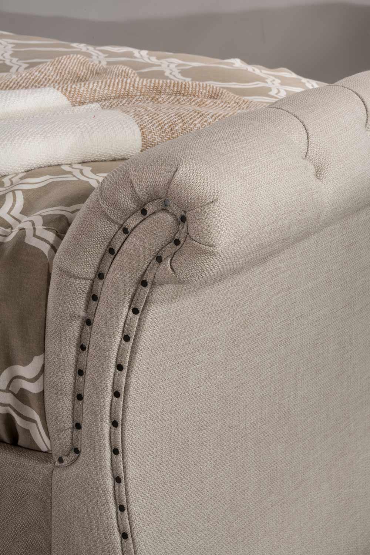 Hillsdale Hunter Backless Daybed - Linen Sandstone