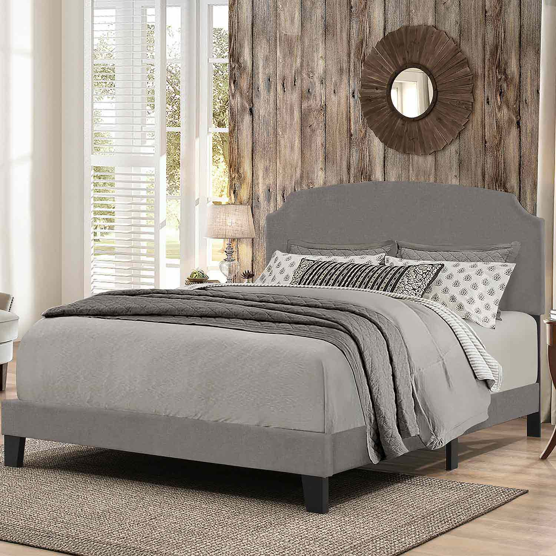 Hillsdale Desi Bed - Stone