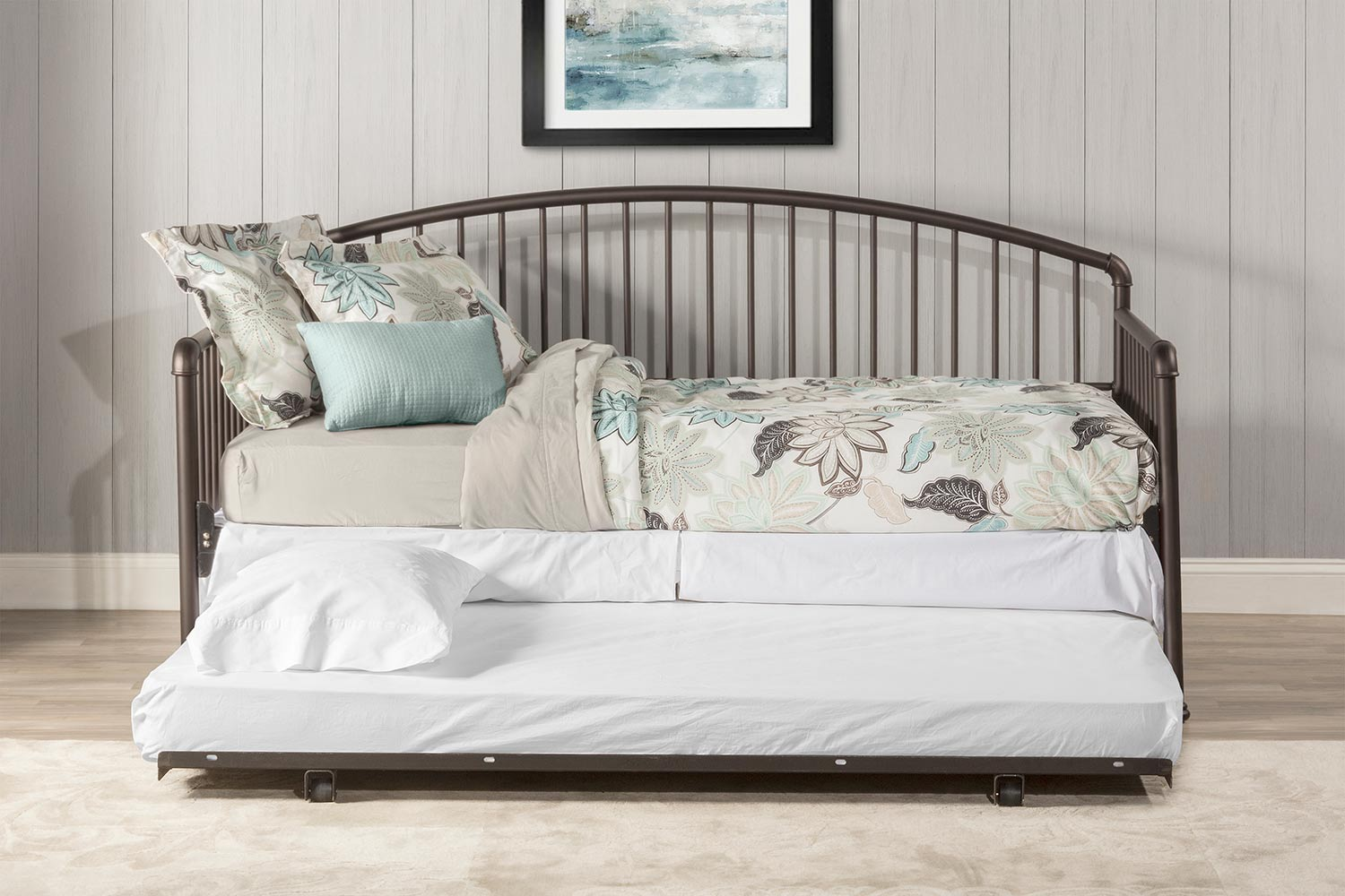 Hillsdale Brandi Daybed with Trundle - Oiled Bronze