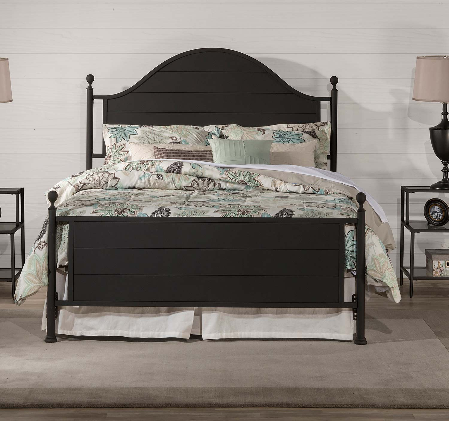 Hillsdale Cumberland Bed - Textured Black
