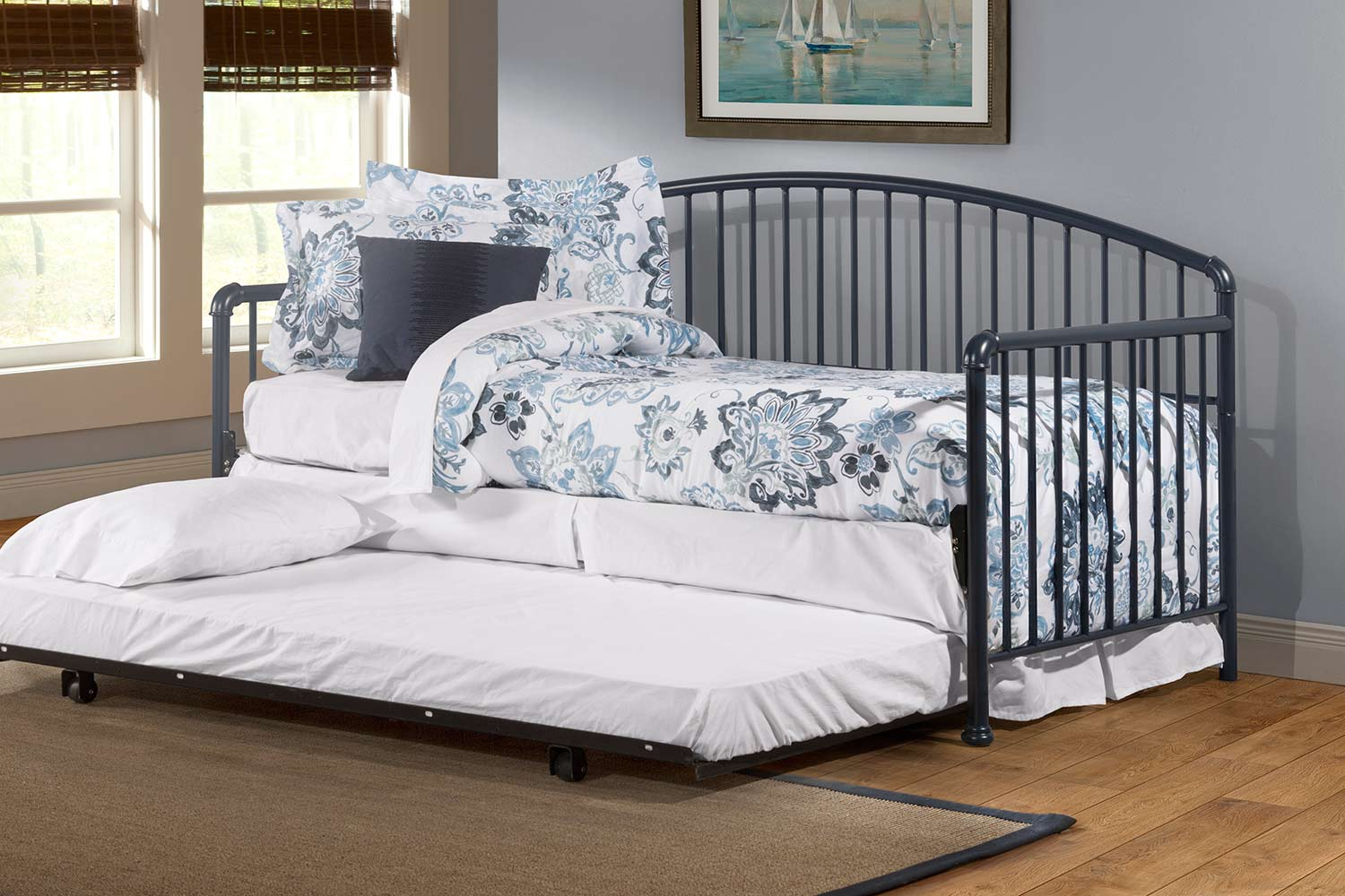 Hillsdale Brandi Daybed with Trundle - Navy