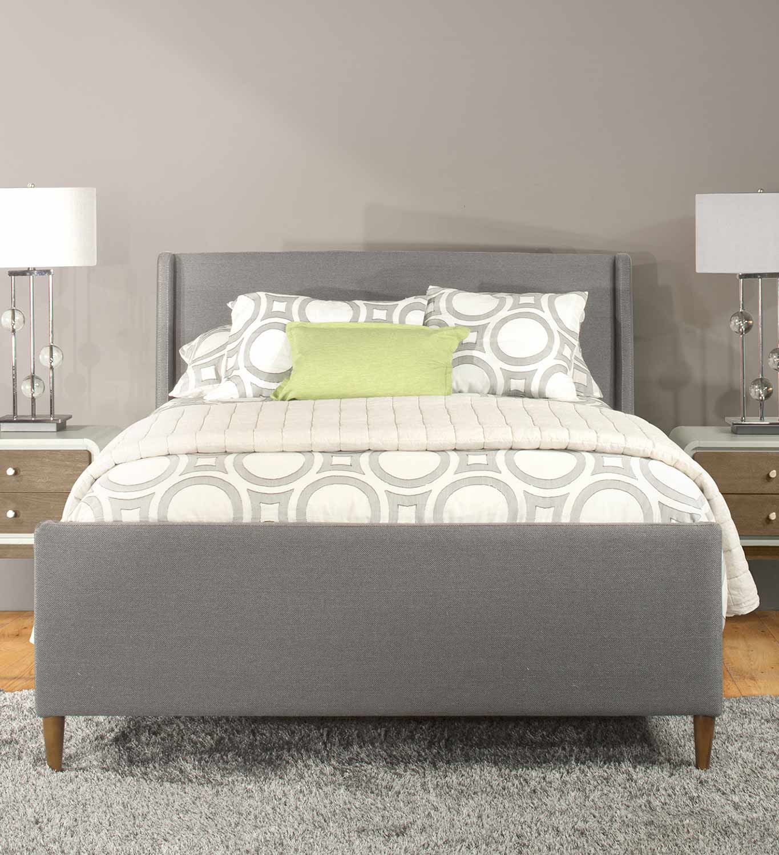Hillsdale Denmark Bed - Linen Charcoal