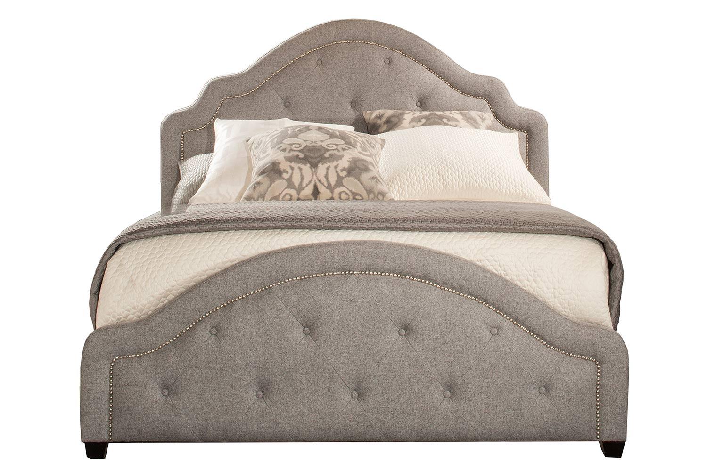 Hillsdale Belize Bed - Light Grey