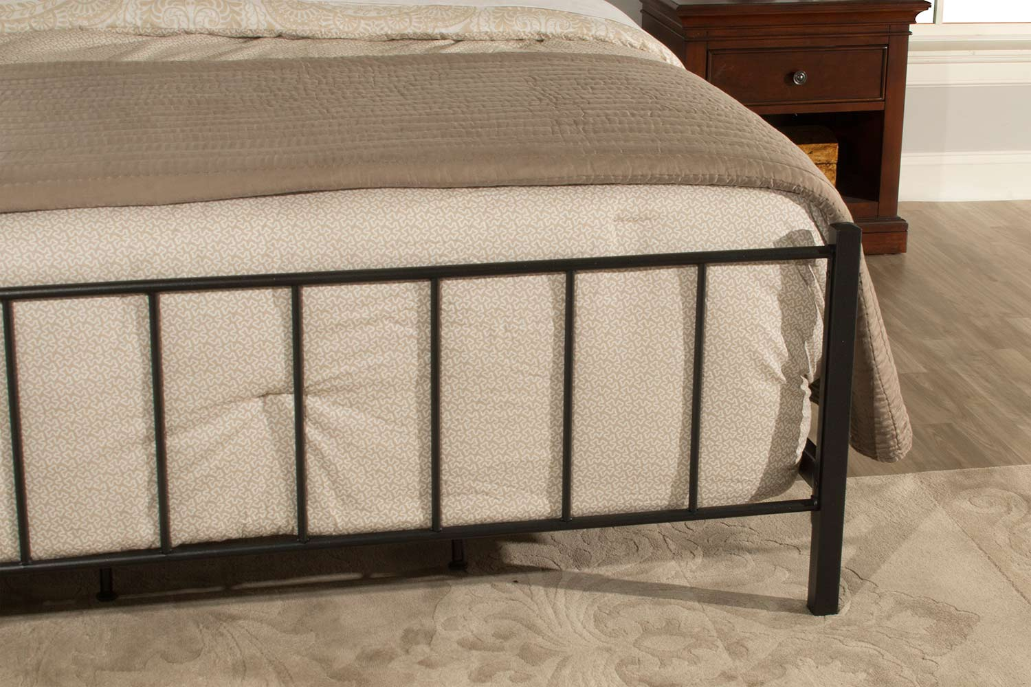 Hillsdale Kenosha Bed - Black Sparkle
