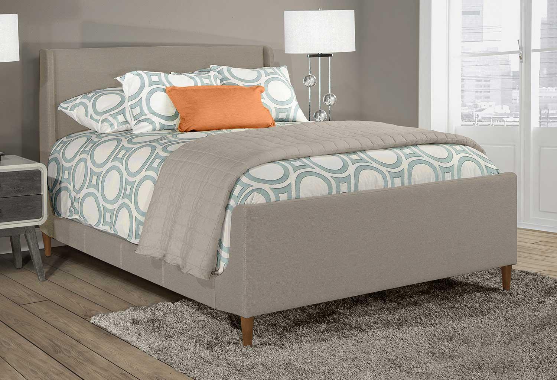 Hillsdale Denmark Bed - Dove Gray