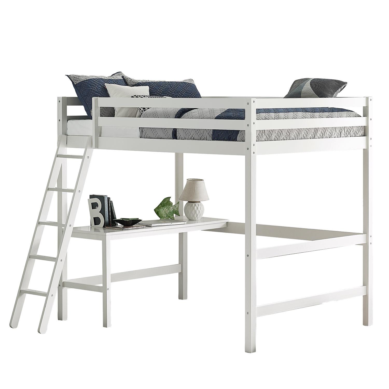 Hillsdale Caspian Full Loft Bed - White
