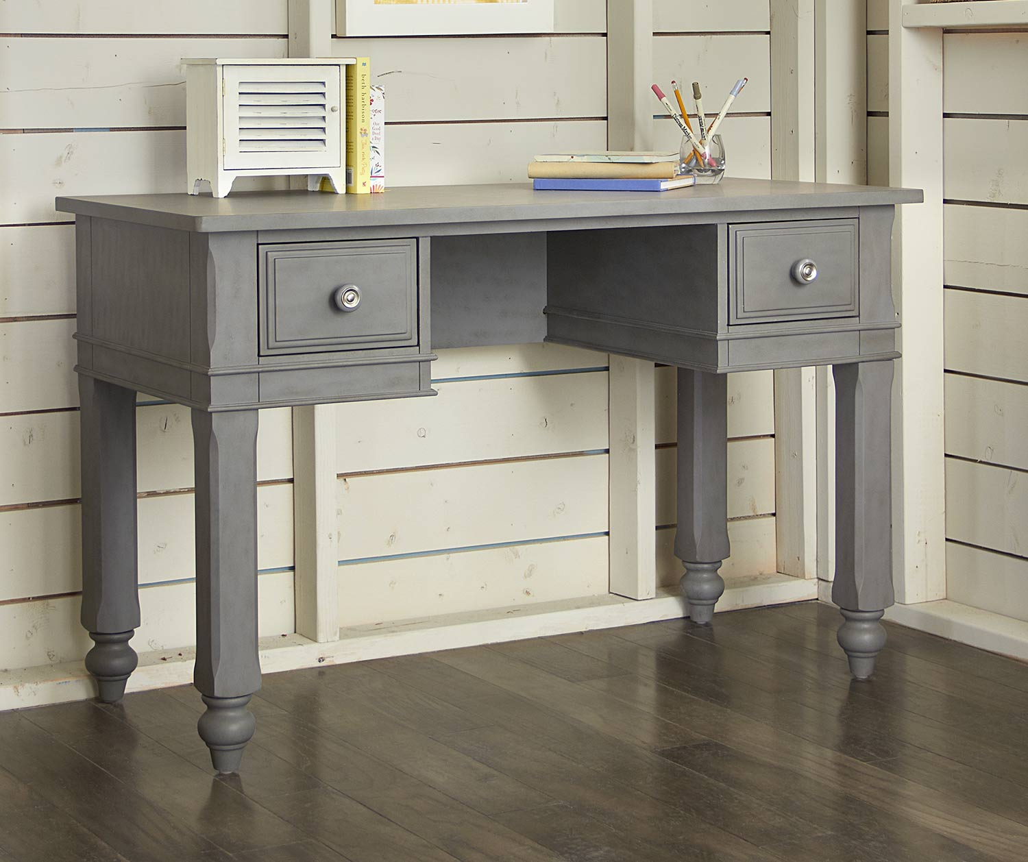 NE Kids Lake House Writing Desk - Stone
