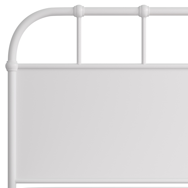 Hillsdale Grayson Metal Headboard - Textured White