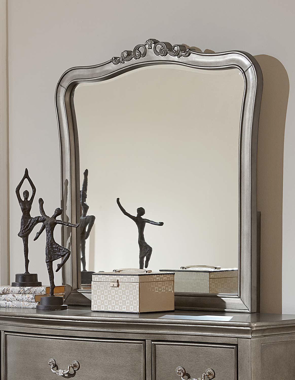 NE Kids Kensington Mirror - Antique Silver