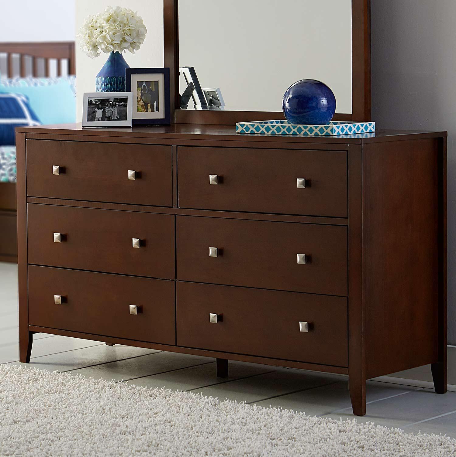 NE Kids Pulse 6 Drawer Dresser - Cherry