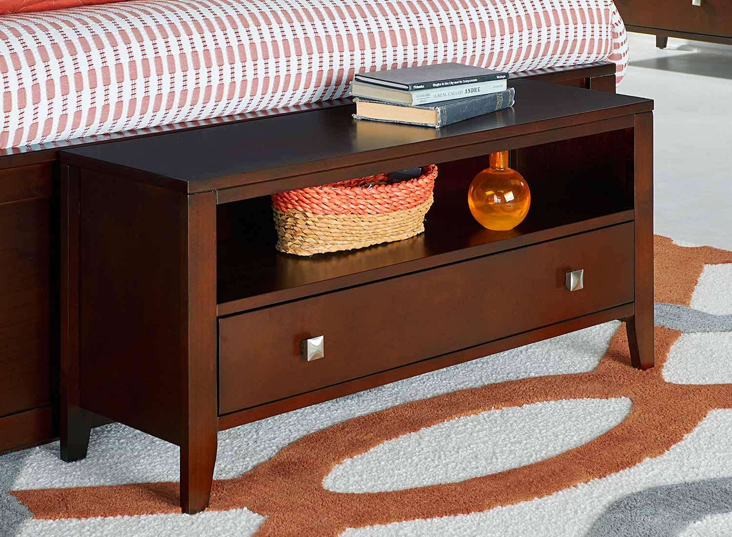NE Kids Pulse Dressing Bench - Cherry