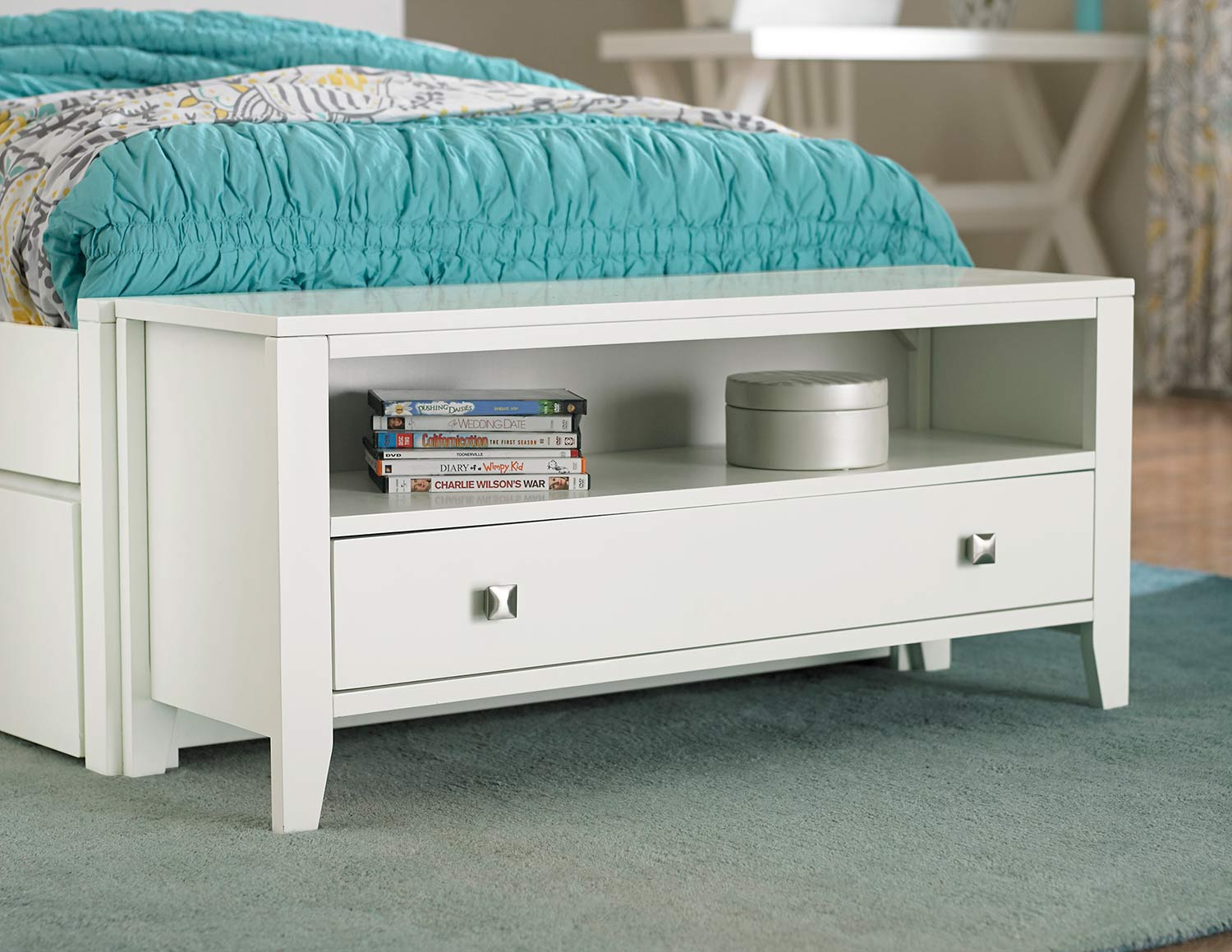 NE Kids Pulse Dressing Bench - White