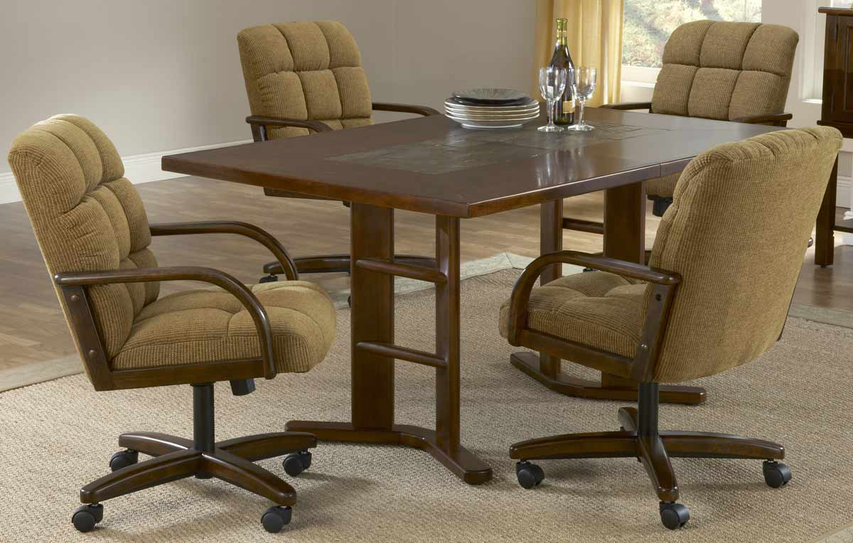 Hillsdale Frankfort 5-Piece Fabric Dining Collection