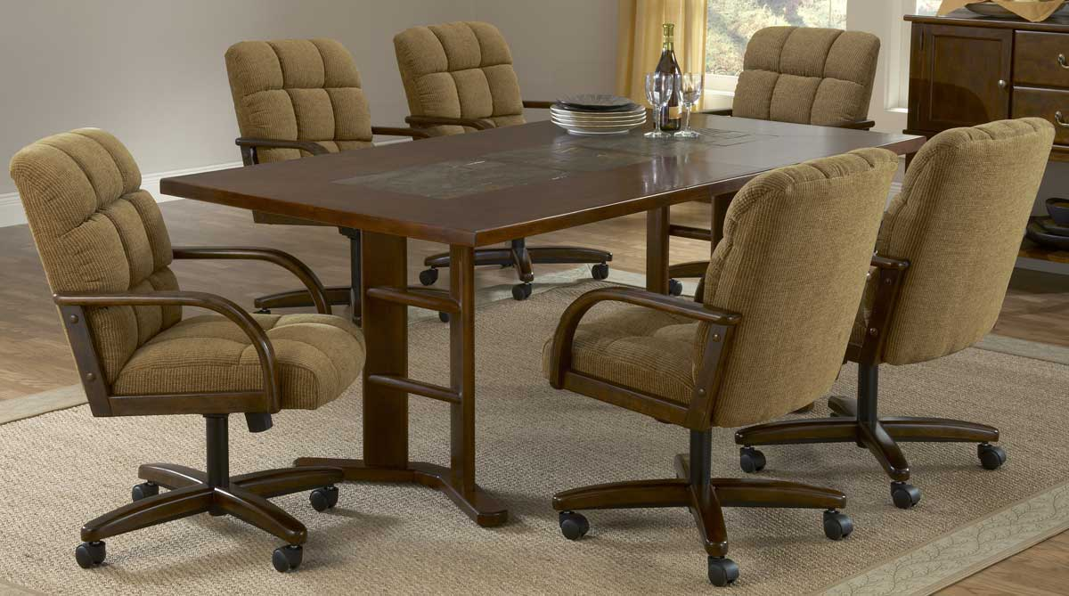 Hillsdale Frankfort 7-Piece Fabric Dining Collection
