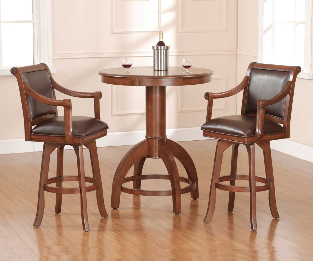 Hillsdale Palm Springs Bistro Table Set Hd 4185ptbs At