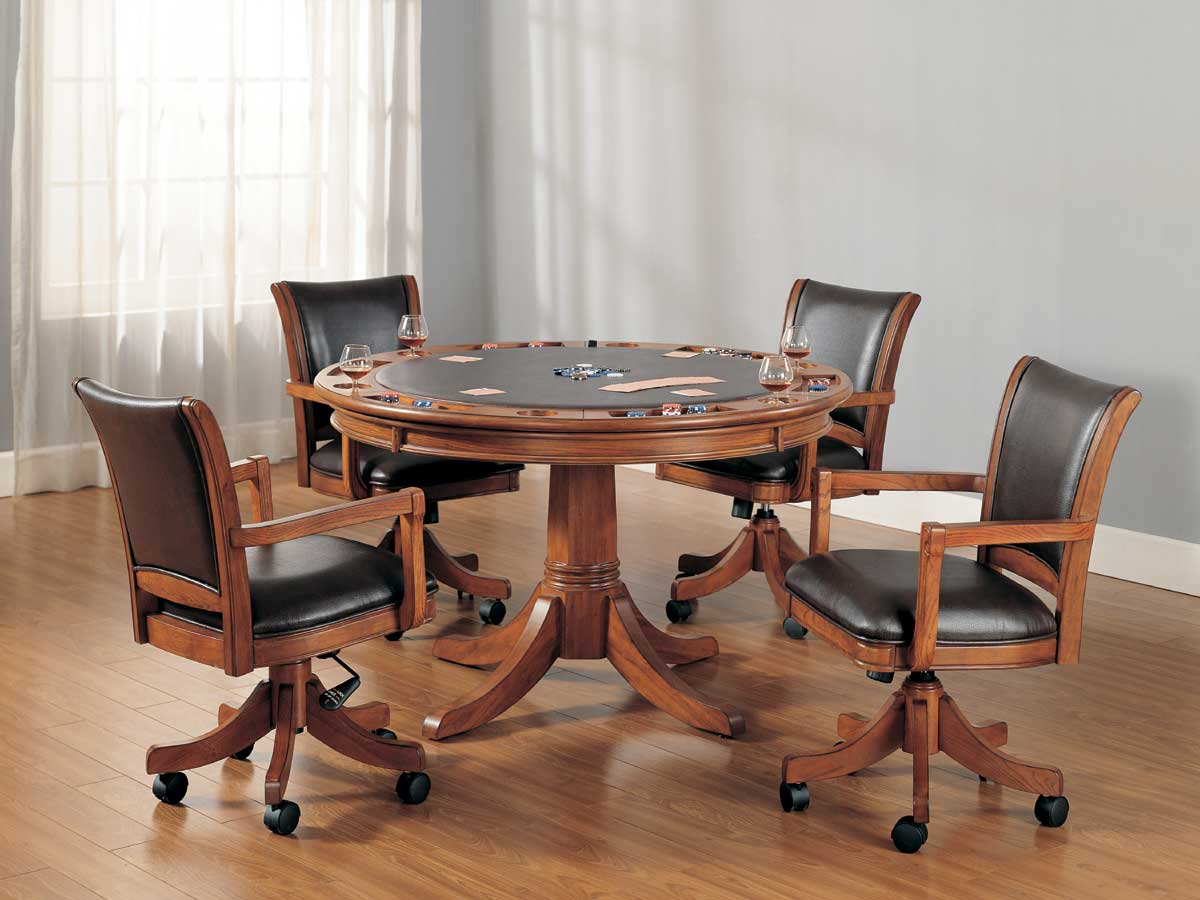 Hillsdale Park View Game Table Collection