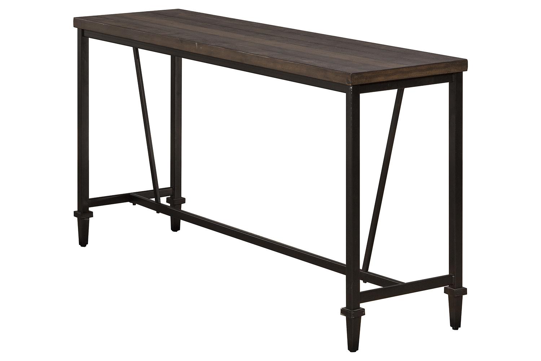 Hillsdale Trevino Sofa Table - Walnut/Brown