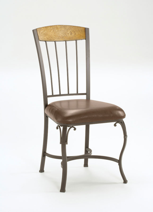 Hillsdale Lakeview Wood Panel Top Dining Chair