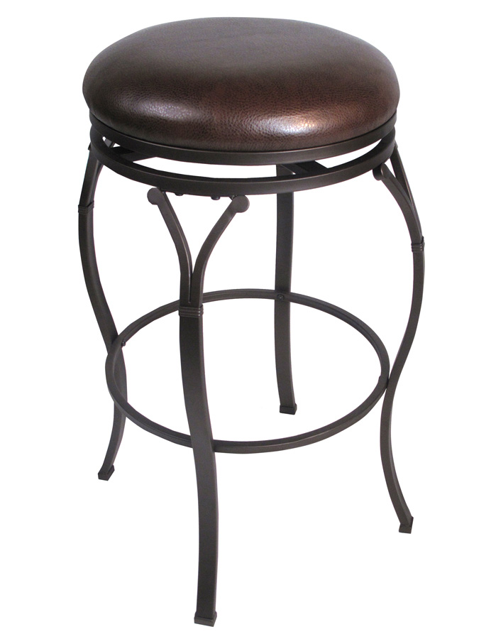 Hillsdale Lakeview Backless Swivel Bar Stool