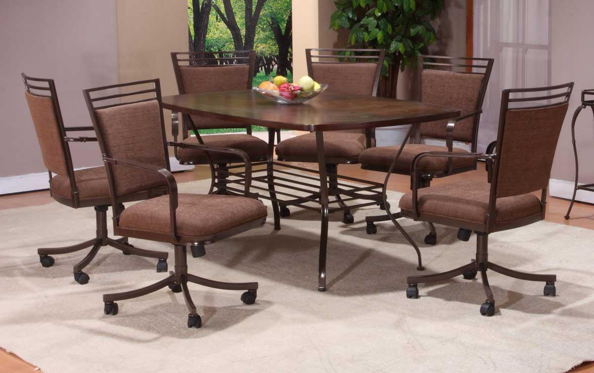 Hillsdale Trebec Rectangle Dining Set