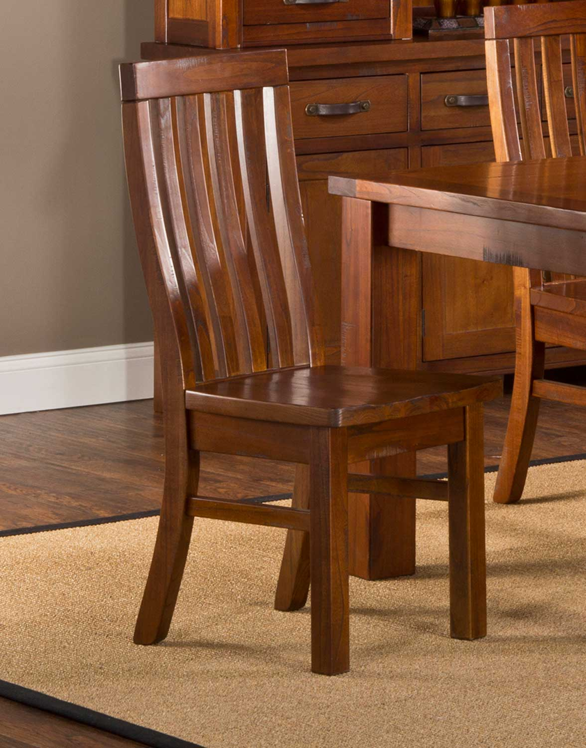 Hillsdale Outback Dining Set Distressed Chestnut Hd 4321