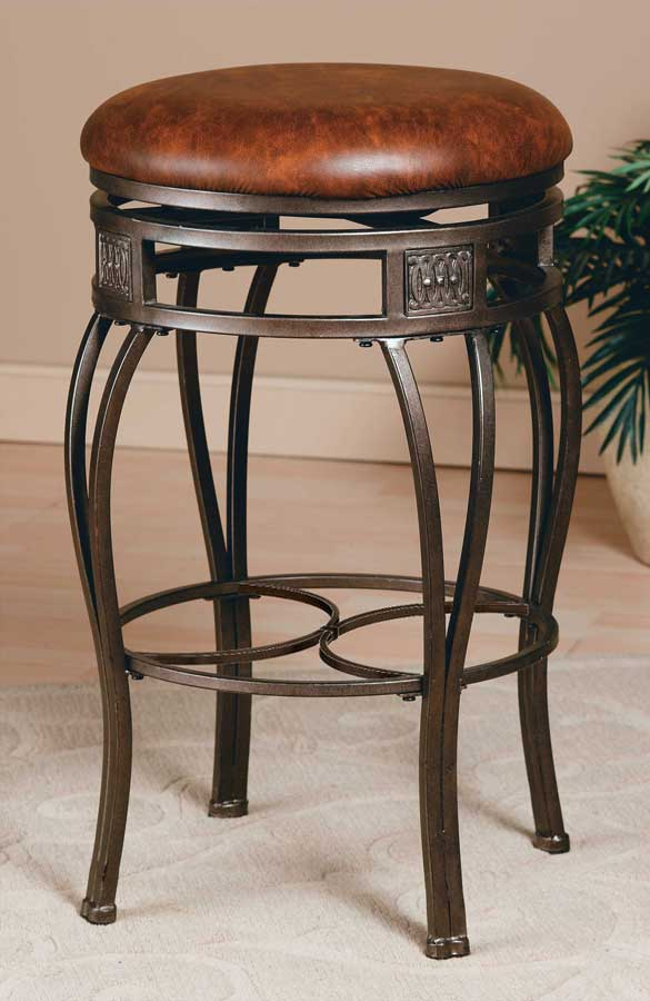 Hillsdale Montello Swivel Bar Stool - Backless