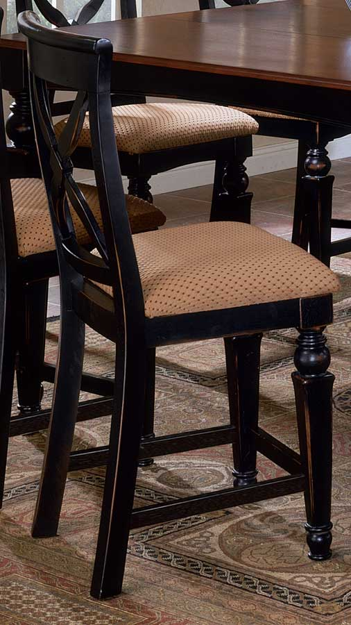 Hillsdale Northern Heights Non Swivel Wood Counter Stools