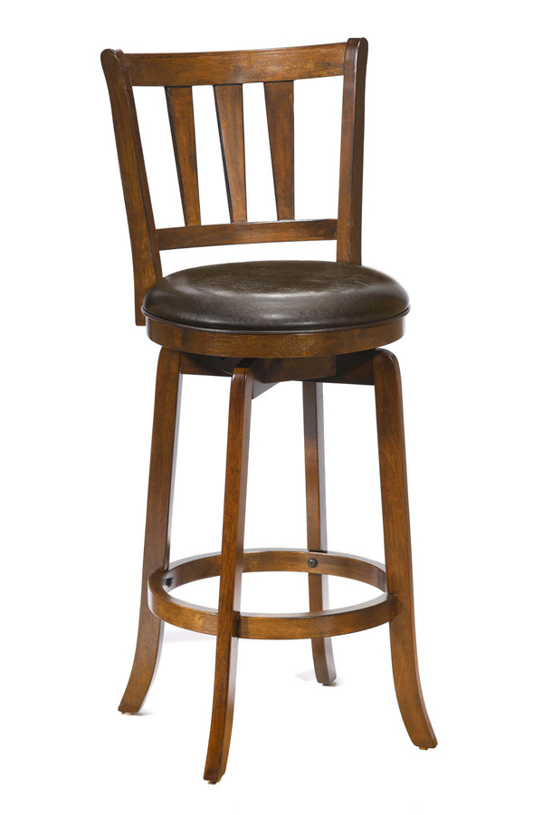 Hillsdale Presque Isle Swivel Counter Stool - Cherry