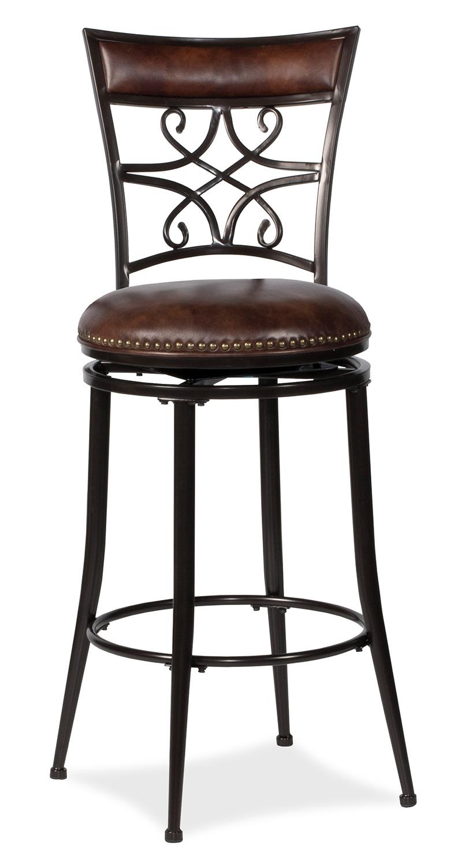 Hillsdale Seville Swivel Bar Stool - Brown Shimmer