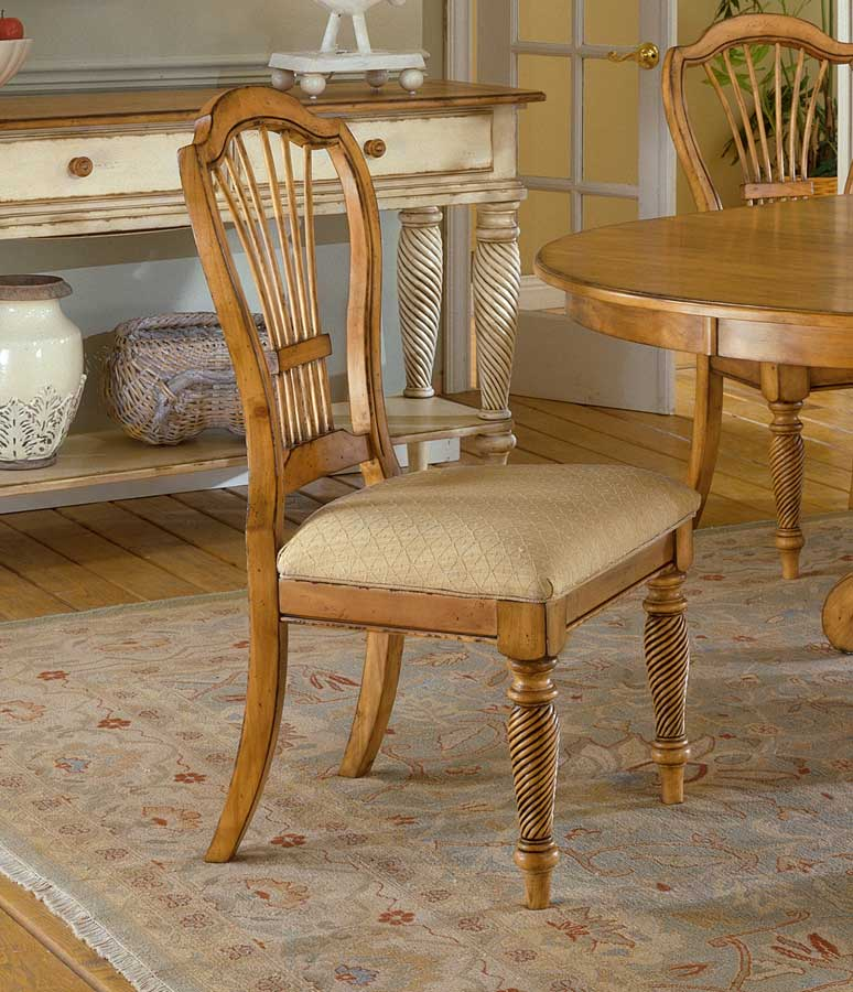 Exceptionnel Hillsdale Wilshire Side Chair   Antique Pine
