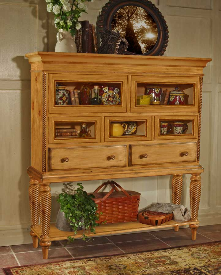 Cheap Hillsdale Furniture Wilshire Sideboard Cabinet – Antique Pine