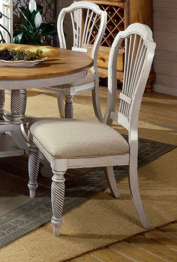 Cheap Hillsdale Furniture Wilshire Side Chair – Antique White