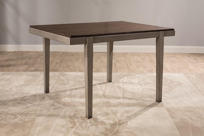 Hillsdale Garden Park Dining Table - Gray/Espresso