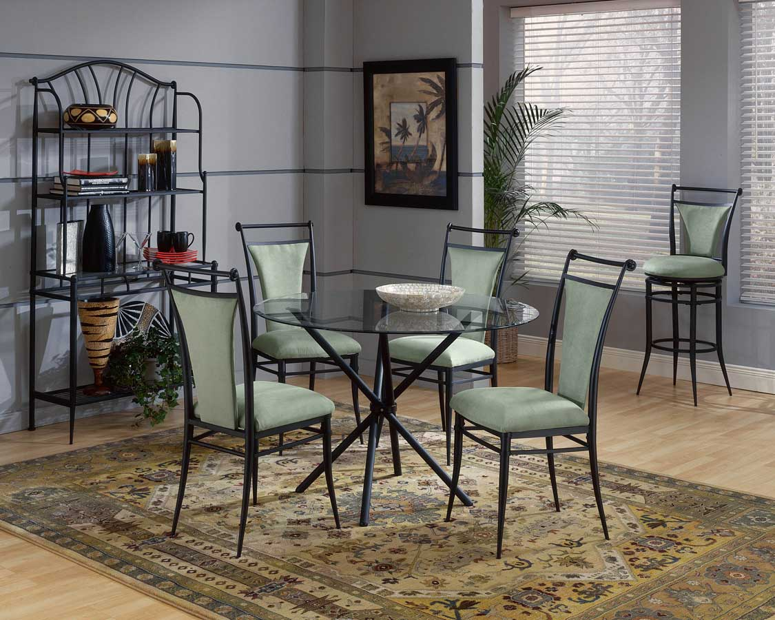 Hillsdale Cierra Round Dining Collection - Atmosphere