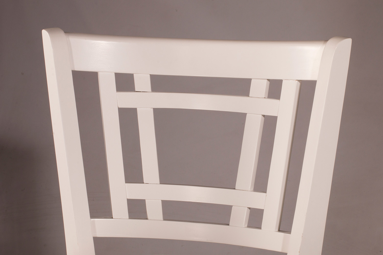 Hillsdale Fairfox Swivel Counter Stool - White - Ecru Fabric