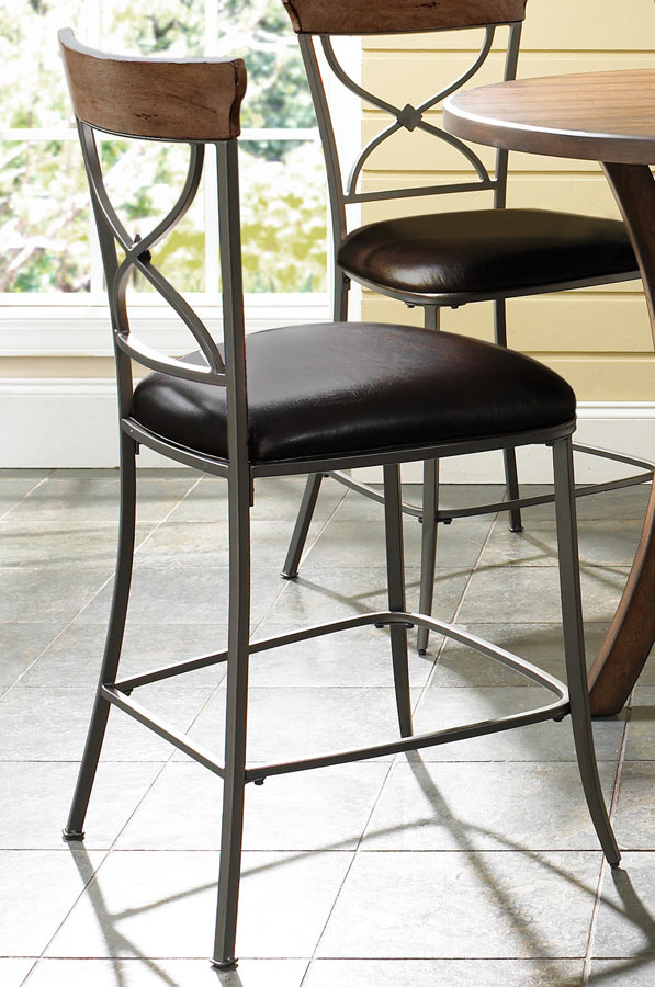 Hillsdale Cameron X-Back Stool