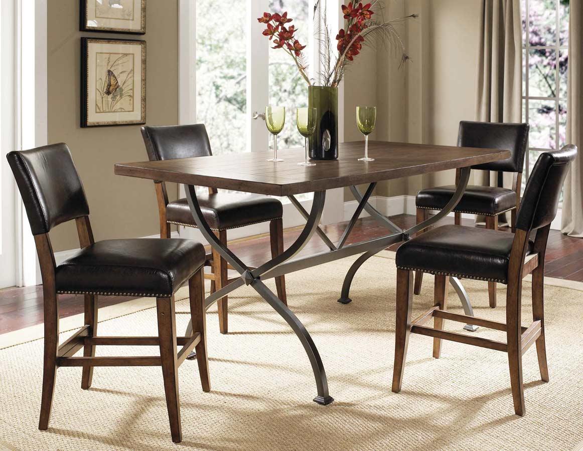 Counter Height Rectangular Dining Set : Hillsdale Cameron Rectangular Counter Height Dining Set With Parson ...