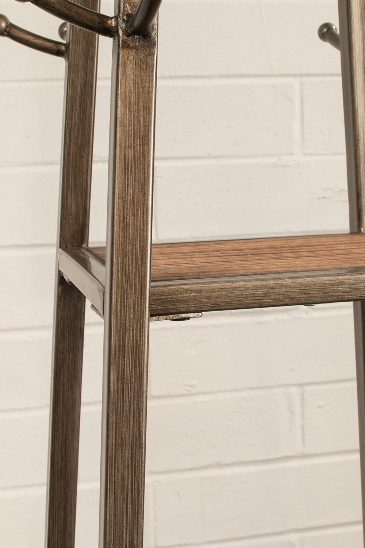 Hillsdale Crofton Coat Rack - Silver