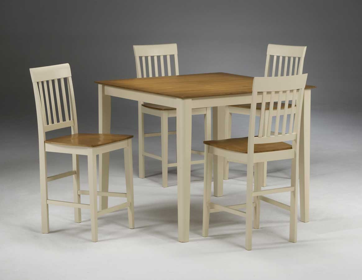 Hillsdale Riverview 5-pc Counter Height Table Set - Spoke Back