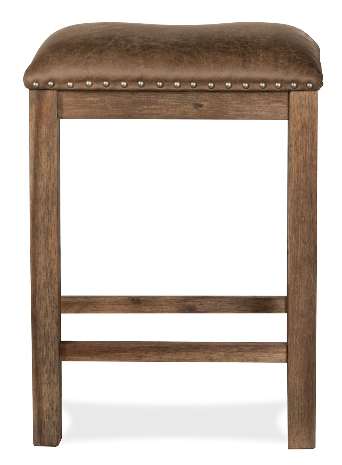 Hillsdale Willow Bend Stationary Counter Height Stool - Antique Brown Walnut