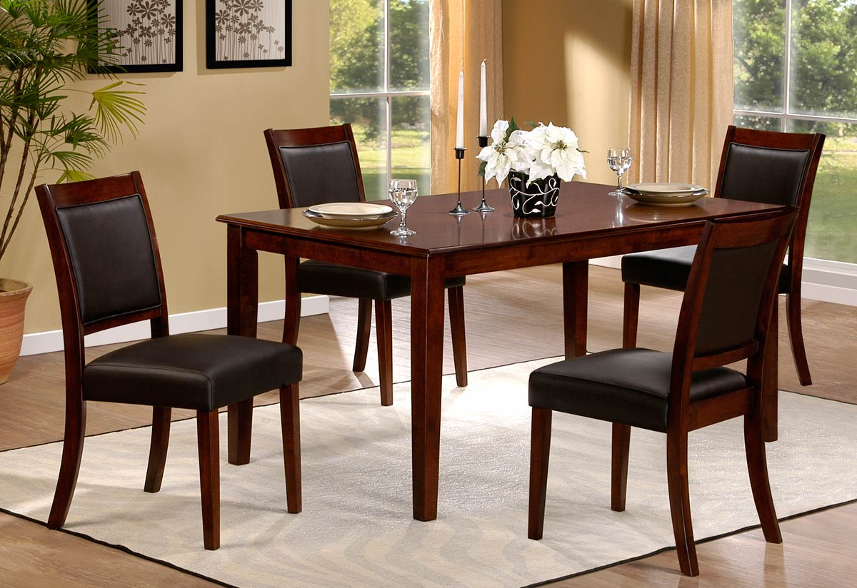 Hillsdale Lyndon Lane Dining Set With Upholstered Dining Chair