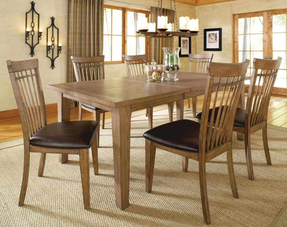 Hillsdale Oak Grove Dining Set