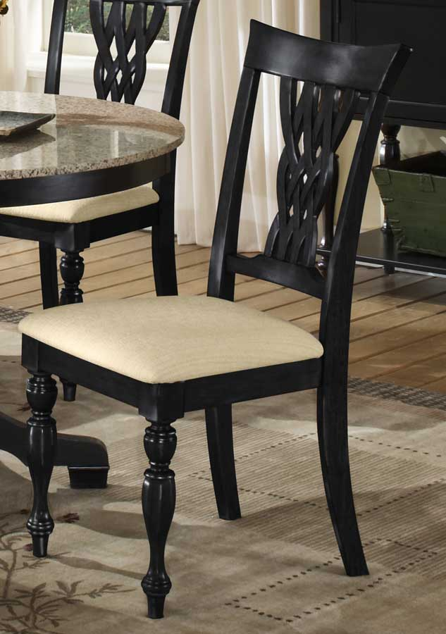 Hillsdale Embassy Dining Chairs - Rubbed Black