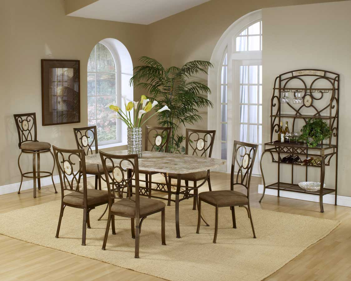 Hillsdale Brookside Rectangular Dining Collection - Oval Back