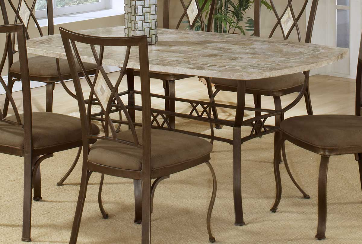 Hillsdale Brookside Rectangle Dining Collection Oval