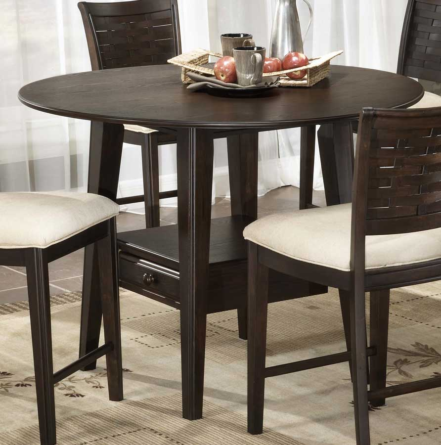 Hillsdale Oxmoor Counter Height Gathering Table with Storage 4819-836 ...