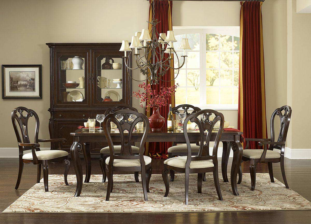 Hillsdale Grandover 5 Piece Dining Set - Dark Cherry