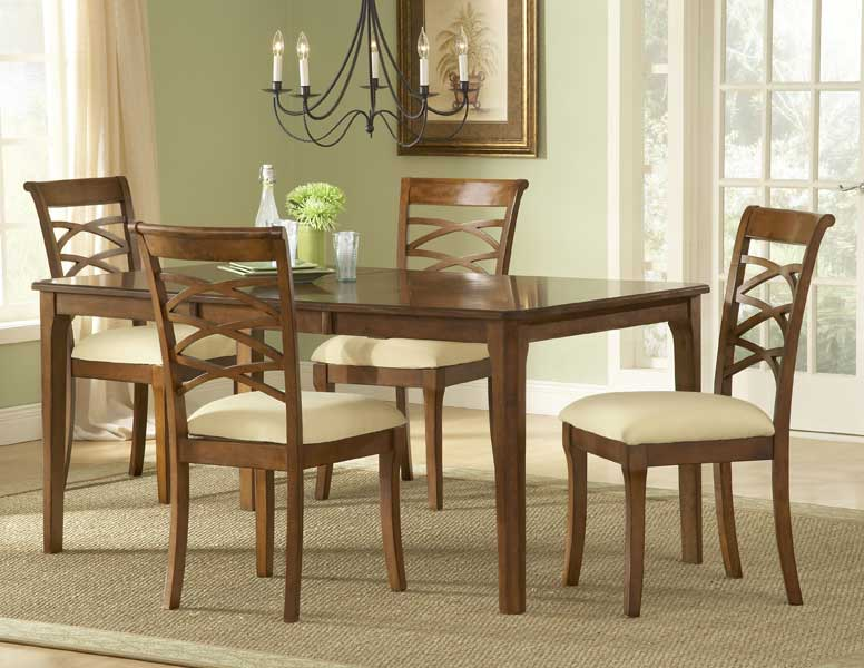 Hillsdale Tailored Collection Rectangular Dining Set